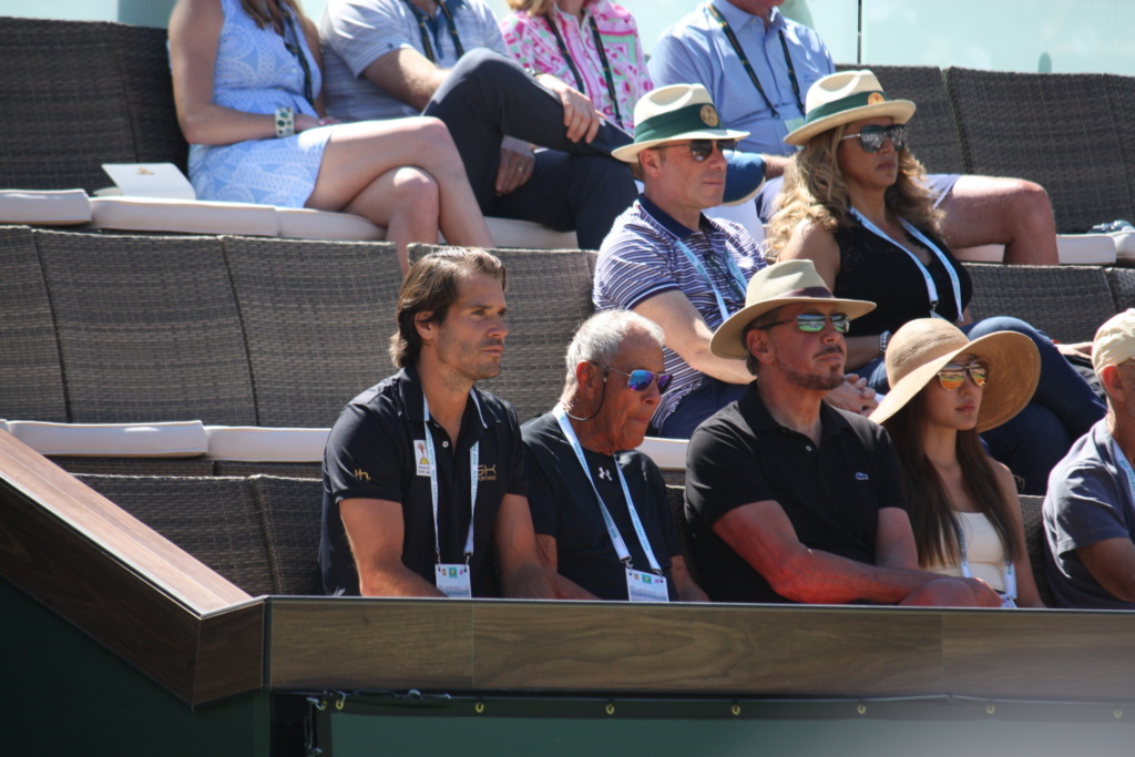 The stands at the BNP Paribas Open in Indian Wells, California